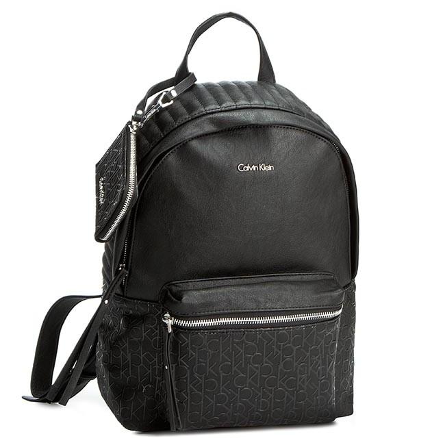 e541f76ea487f Hátizsák CALVIN KLEIN JEANS - Maddie Plus Backpack K60K601530 Czarny 001