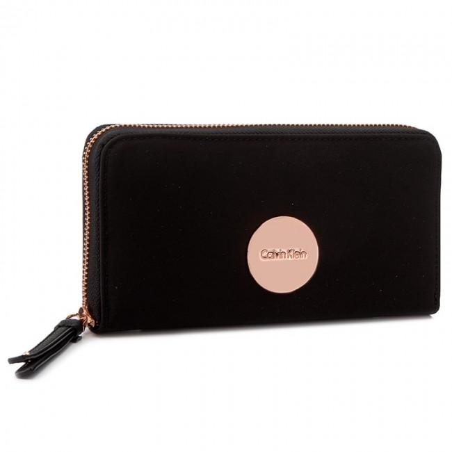 Nagy női pénztárca CALVIN KLEIN BLACK LABEL - Ed1th Large Ziparound  K60K602704 001 - Női pénztárcák - Pénztárcák - Bőrdíszműáruk - Kiegészítők  - www.ecipo. ... 7775eca334