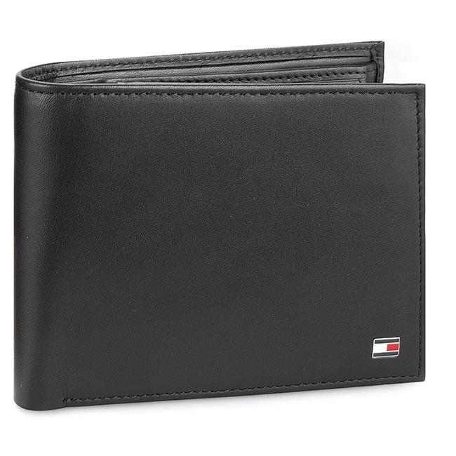 6d2de3d9fc Nagy férfi pénztárca TOMMY HILFIGER - Eton Cc Flap And Coin Pocket  AM0AM00652 002