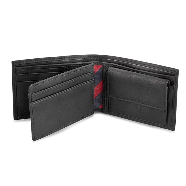 Nagy férfi pénztárca TOMMY HILFIGER - Johnson Mini Cc Flap And Coin Pocket  AM0AM00662 82568 f6b6b0eaa8