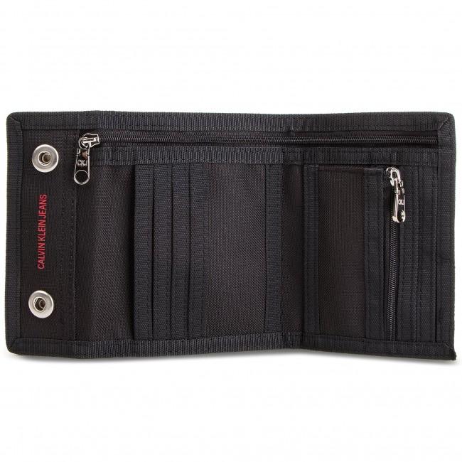 d07bc14d1b Nagy férfi pénztárca CALVIN KLEIN JEANS - Sp Essential + Canvas Billfold  K40K400841 001