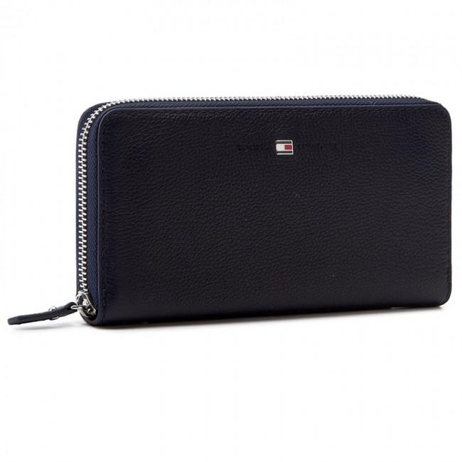 c2677465e2 Nagy női pénztárca TOMMY HILFIGER - Basic Leather Large Z/A Wallet  AW0AW03559 413