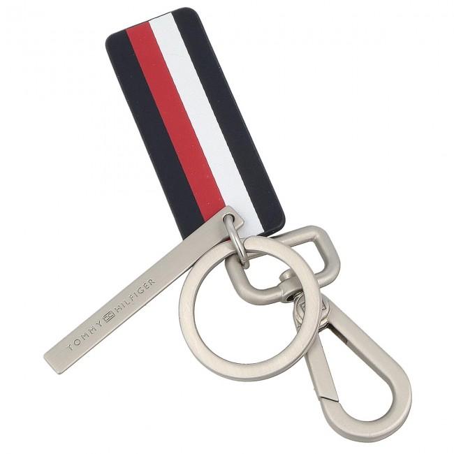 2524e5d513 Kulcstartó TOMMY HILFIGER - Logo Plaque Keyfob AM0AM02664 901 ...
