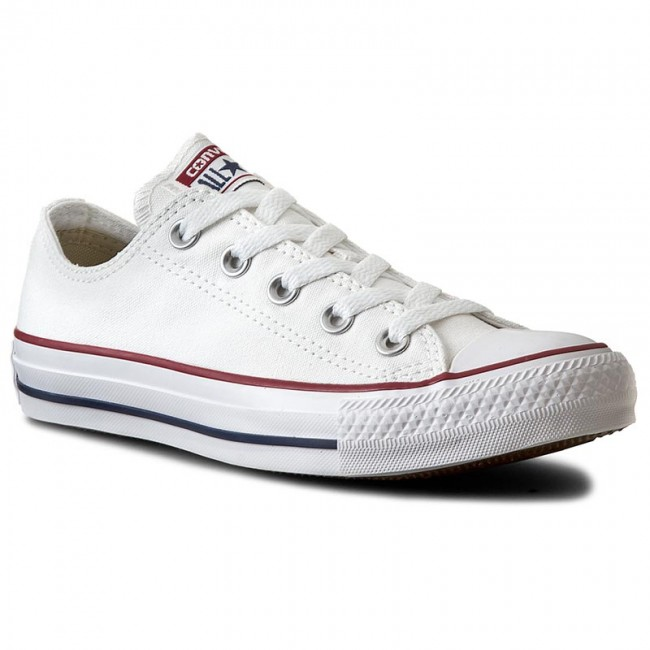 Tornacipő CONVERSE - All Star Ox M7652C Optical White - Lapos ... cef3f14ef1