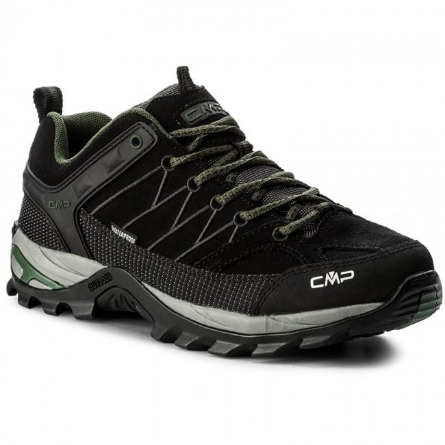 Bakancs CMP - Rigel Low Trekking Shoes Wp 3Q13247 Black Loden 87BD ... c006d60356