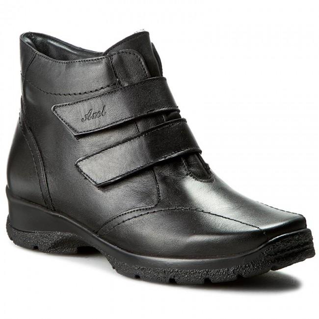 Magasított cipő AXEL - 4002 Fekete
