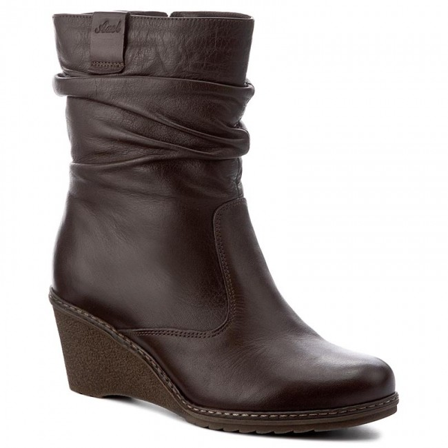 Magasított cipő AXEL - 4021 Brąz