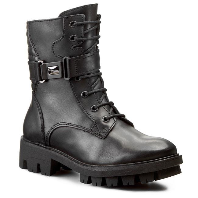 Magasított cipő WASAK - 0371 Wiśnia - Bokacsizmák - Csizmák és egyebek - Női