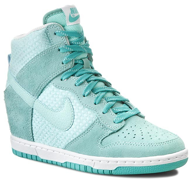 Nike Dunk Sky High Cipő Női Fehér Kék Webshop |