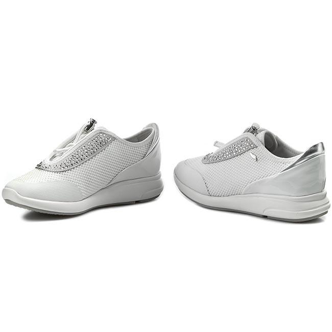 Sportcipő GEOX D Ophira E D621CE 01402 C1209 Off White