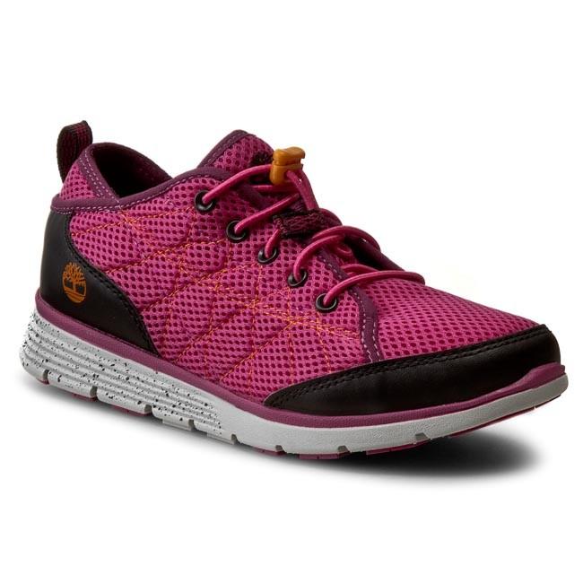 cipő olcsó top design nagy kedvezmény Bakancs TIMBERLAND - Gildden Camp A1769 Pink - Fűzős - Félcipő ...