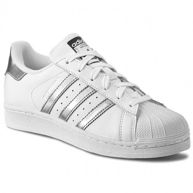 Cipők adidas Superstar AQ3091 FtwwhtSilvmtCblack
