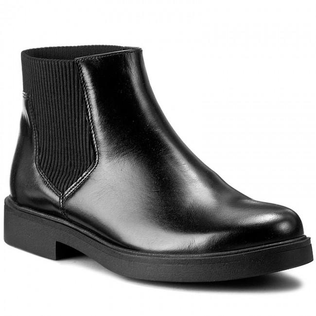 Magasított cipő MACIEJKA 02698 0100 3 Fekete