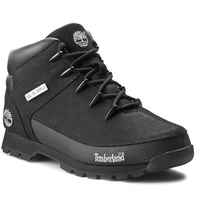 Bakancs TIMBERLAND Euro Sprint Hiker 6361RTB06361R0011 Black