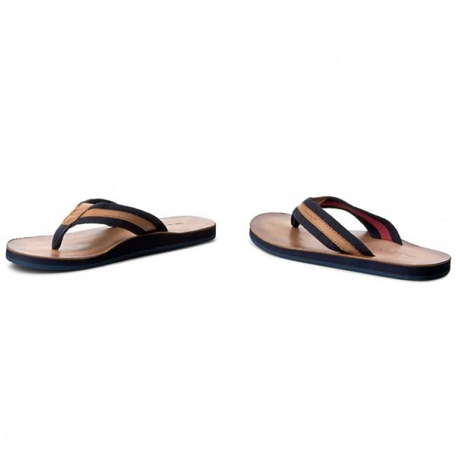 Gant, Breeze bőr flip flop papucs, Barna, 41