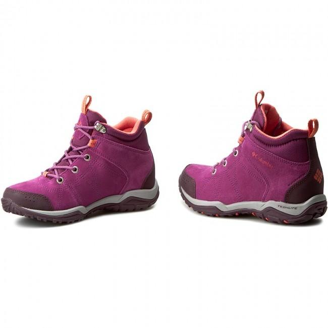 84130790e82 Bakancs COLUMBIA - Fire Venture Mid Waterproof BL1717 Intense  Violet/Melonade