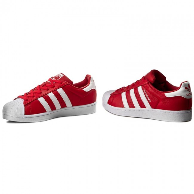 adidas Piros Lifestyle Cipők Red Ftwwht Ftwwht Gyerek