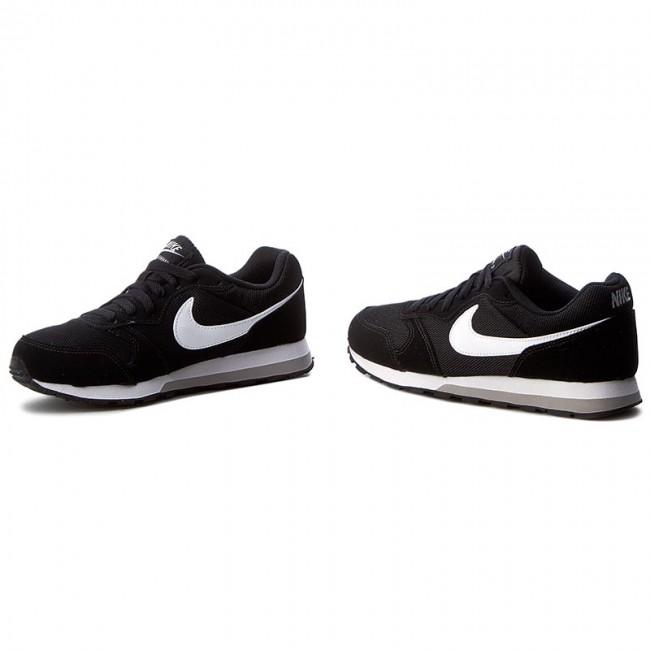Cipők NIKE Md Runner 2 (GS) 807316 001 BlackWhiteWolf Grey