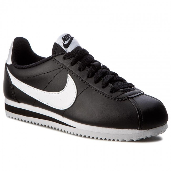 Cipők NIKE Classic Cortez Leather 807471 010 BlackWhiteWhite