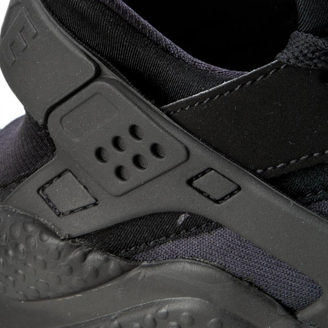 Cipők NIKE Air Huarache 318429 003 BlackBlackWhite