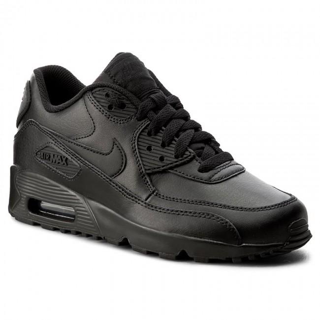 Cipők NIKE Air Max 90 Ltr (GS) 833412 001 BlackBlack