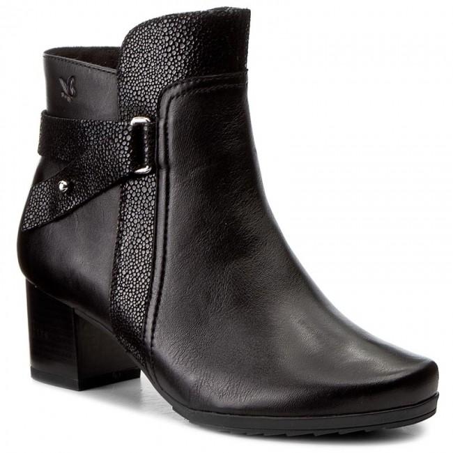 Magasított cipő CAPRICE 9 25423 29 Black Comb 019