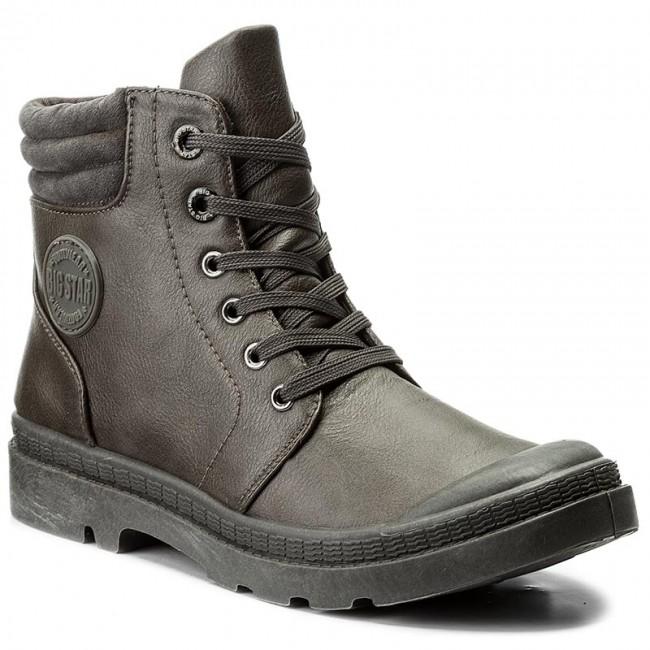Magasított cipő BIG STAR Y274023 Grey