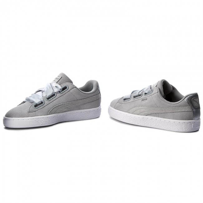 huge discount 8f8bd ff489 Sportcipő PUMA - Suede Heart Safari Wn's 364083 02 Quarry/Quarry