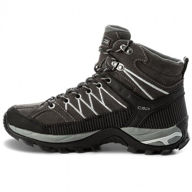 Bakancs CMP - Rigel Mid Trekking Shoes Wp 3Q12947 Grey U862 - Bakancsok - Csizmák és egyebek - Férfi