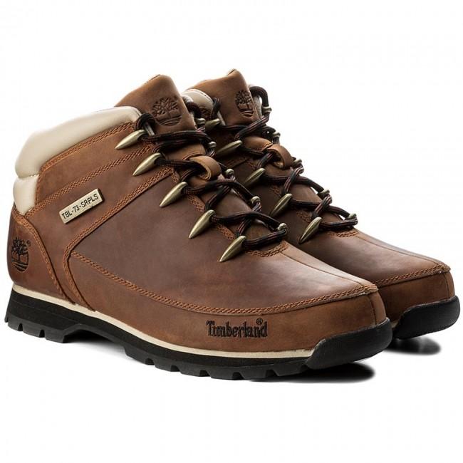 Bakancs TIMBERLAND - Euro Sprint Hiker A121K/TB0A121K2141 Brown - Bakancsok - Csizmák és egyebek - Férfi