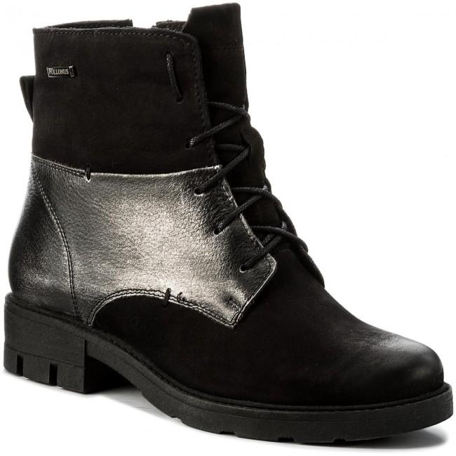 Magasított cipő POLLONUS 5 0950 002 Czarny SamuelCzarny Ferro