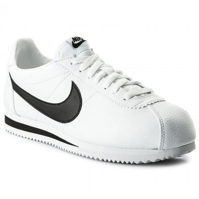 Cipő NIKE Classic Cortez Leather 749571 100 WhiteBlack