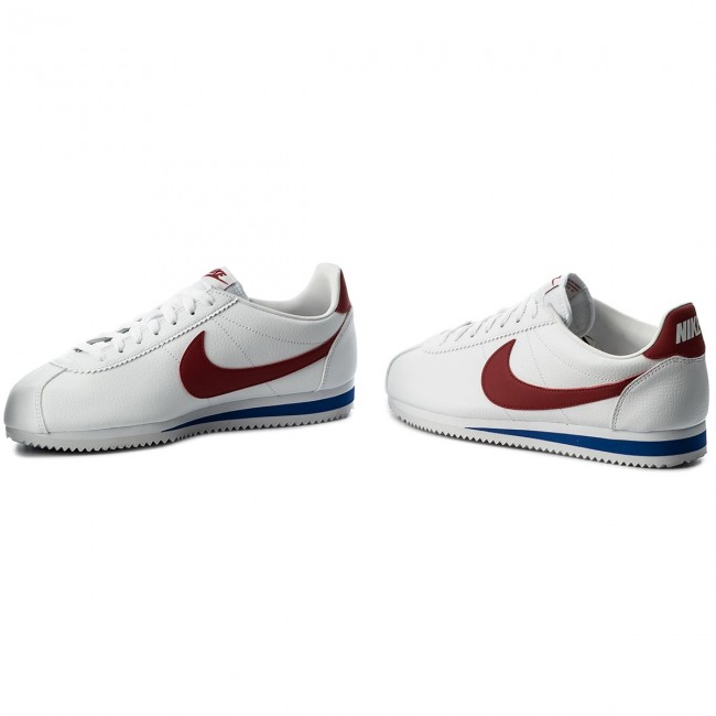 Cipő NIKE Classic Cortez Leather 749571 154 WhiteVaristy Red