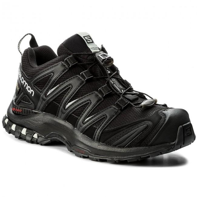 Cipő SALOMON - Xa Pro 3D Gtx GORE-TEX 393329 20 V0 Black/Black/Mineral Grey