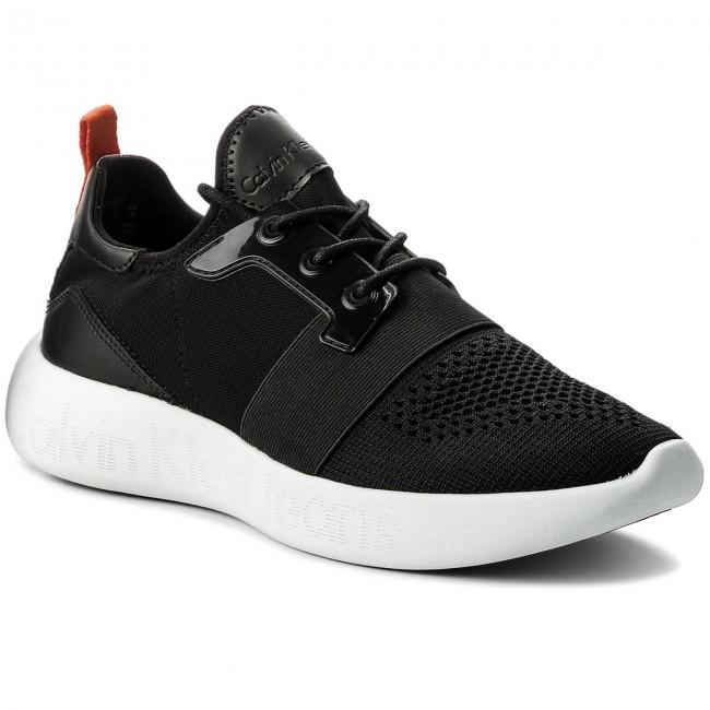 Calvin Klein Férfi sportos cipő Mel Knit fekete színben