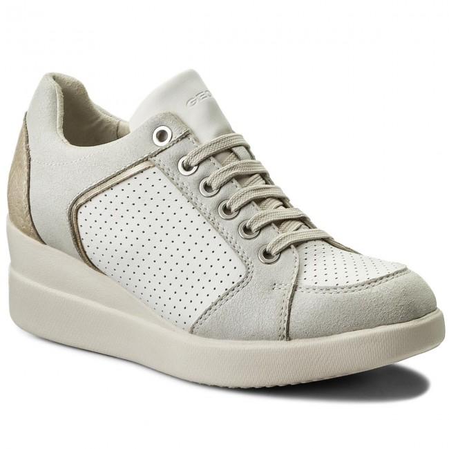 Sportcipő GEOX D Stardust B D8230B 085BN C1000 White