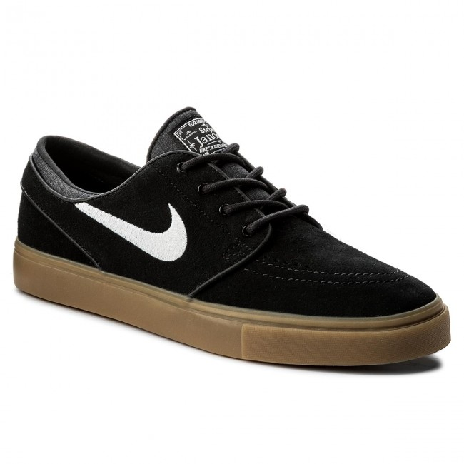 Nike SB Stefan Janoski OG Shoes Black White Gum Light