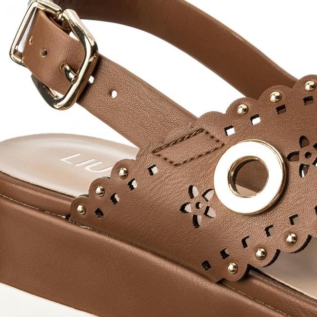 Szandál LIU JO Platform Sandal S18065 E0332 Cuoio 81242