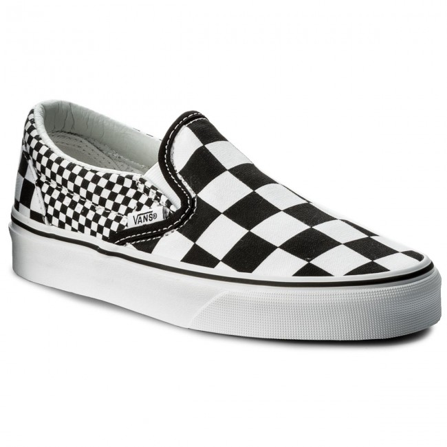 Teniszcipő VANS Classic Slip On VN0A38F7Q9B (Mix Checker) BlackTrue