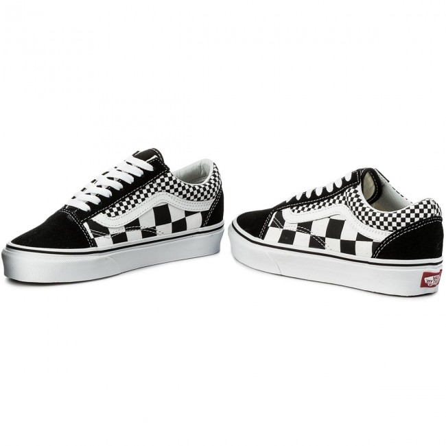 Teniszcipő VANS Old Skool VN0A38G1Q9B (Mix Checker) BlackTrue