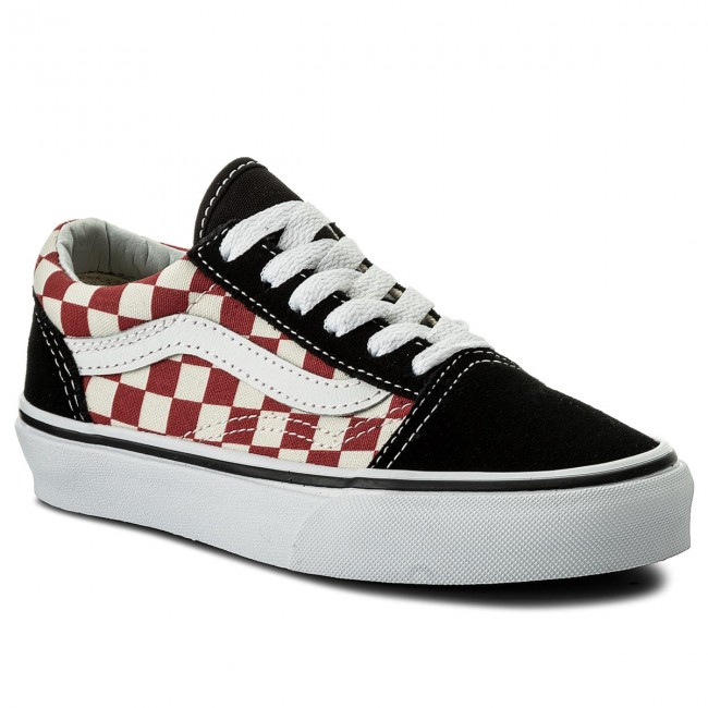 Teniszcipő VANS Old Skool VN0A38HB35U (Checkerboard) BlackRed
