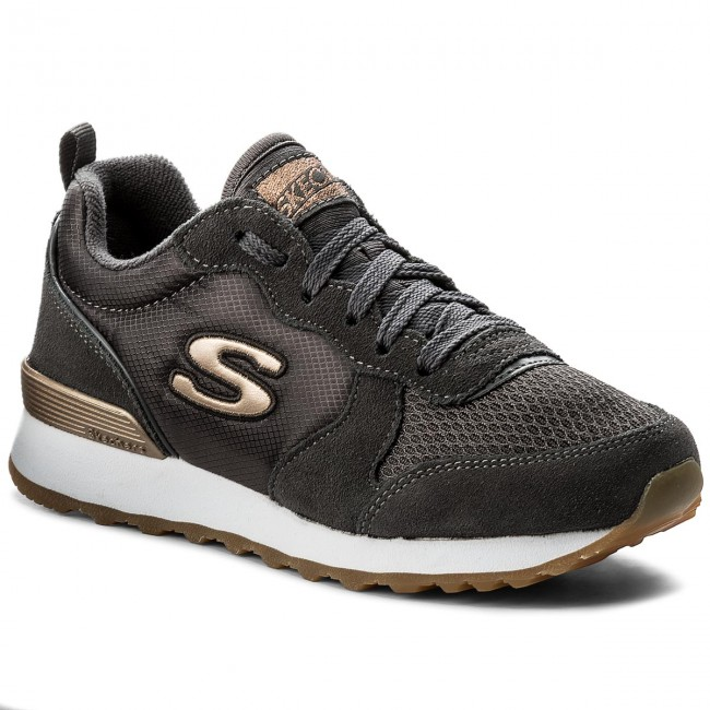 Sportcipő SKECHERS - Goldn Gurl 111/CCL Charcoal