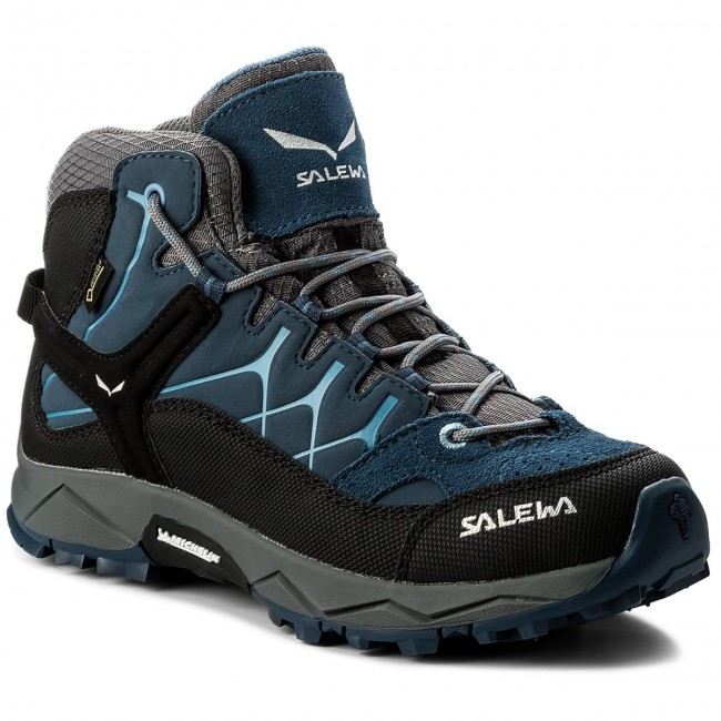 Bakancs SALEWA - Alp Trainer Mid Gtx GORE-TEX 64006-0365 Dark Denim/Charcoal
