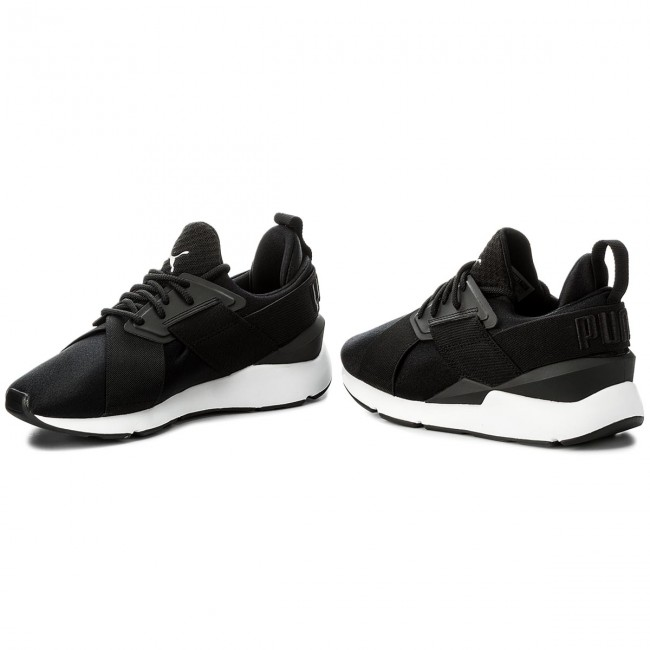 Sneakers PUMA Muse Satin EP 365534 03 Puma BlackPuma White