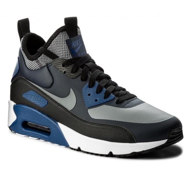 Cipő NIKE Air Max 90 Ultra Mid Winter 924458 401 ObsidianCool GreyBlack