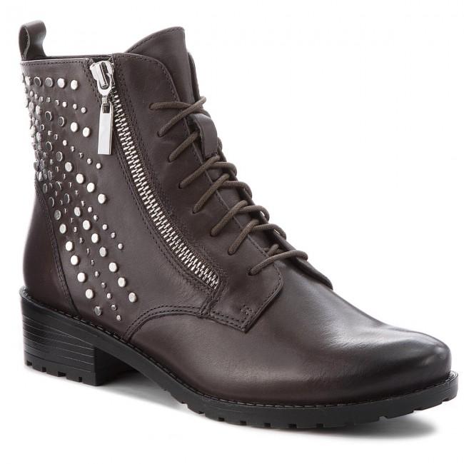 Magasított cipő CAPRICE 9 25102 21 Dk Grey Nappa 213