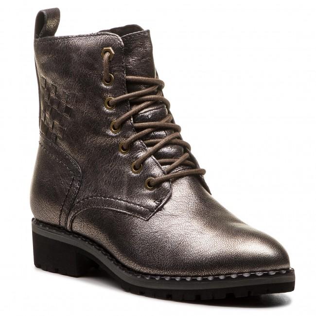 Magasított cipő CAPRICE 9 26210 21 Dk Bronce Met. 955