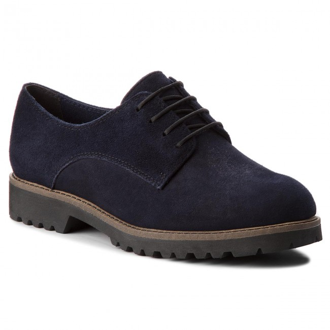 Oxford cipők TAMARIS 1 23294 30 Navy Suede 806