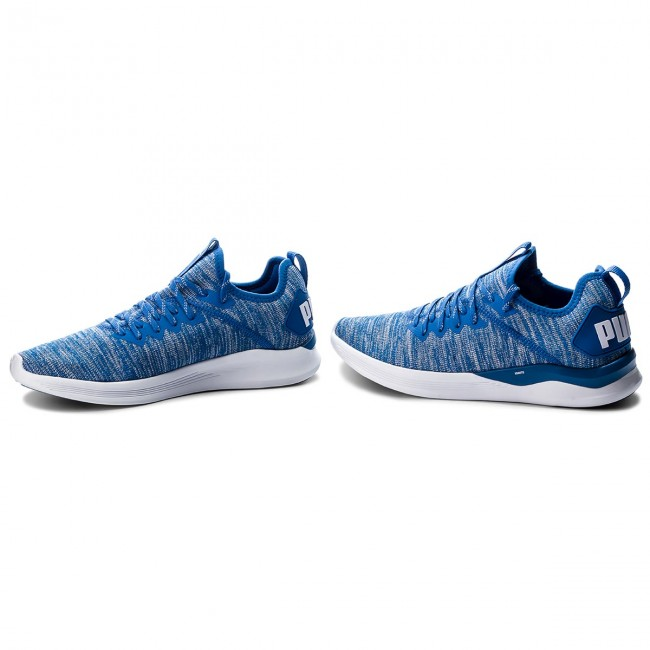 Cipő PUMA Ignite Flash EvoKnit 190508 13 Strong BlueWhite