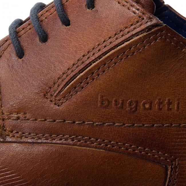 Cipő BUGATTI 312 10115 2100 6300 Cognac Alkalmi